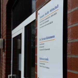 Eingangsbereich Moordeicher Landstraße 3a, 28816 Stuhr